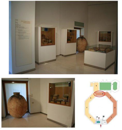 Figure 1. Salle d'archéologie médiévale du Museo provincial de Huesca
