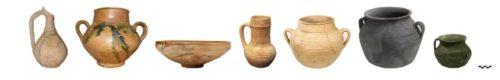 Figure 2. Principales formes de céramiques découvertes à Las Sillas